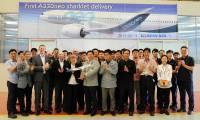 Korean Air livre le 1er jeu de Sharklets pour l'Airbus A330neo