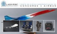 Une vente d'objets liés à Airbus et à Concorde à Toulouse