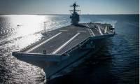 Premiers essais à la mer pour l'USS Gerald R. Ford