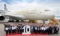 Photo : Etihad a réceptionné son 10ème et dernier A380