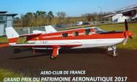 Trois coupes pour le Grand Prix du Patrimoine aéronautique 2017