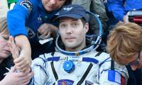 Astronauts return after marathon ISS mission