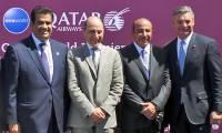 Bourget 2017 : Qatar Airways présente son premier 777 équipé de la QSuite