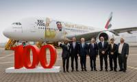 Emirates tient son 100ème Airbus A380
