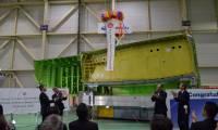 Subaru livre le premier caisson central de voilure pour le Boeing 777X