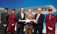 Qatar Airways reçoit le premier Airbus A350-1000