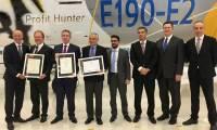 Embraer certifie l'E190-E2 auprès de l'ANAC, la FAA et l'EASA