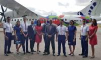 Tsaradia, la filiale intérieure d'Air Madagascar, est lancée