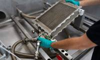 Full steam ahead at Lufthansa Technik for cleaning heat exchangers