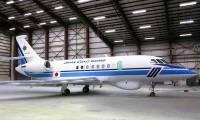 Photo : Dassault dévoile le premier Falcon 2000 MSA destiné aux Gardes-côtes du Japon