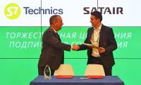 S7 Technics signs strategic agreement with Satair during MRO Russia