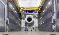 Premier test moteur sur le banc Testbed 80 de Rolls-Royce