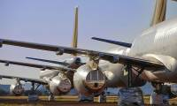 Près d'un tiers de la flotte mondiale des avions de ligne reste encore immobilisé aujourd'hui