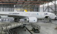 Le Boeing 777-300ERSF de GECAS et IAI sur des rails, les modifications démarrent dans deux mois
