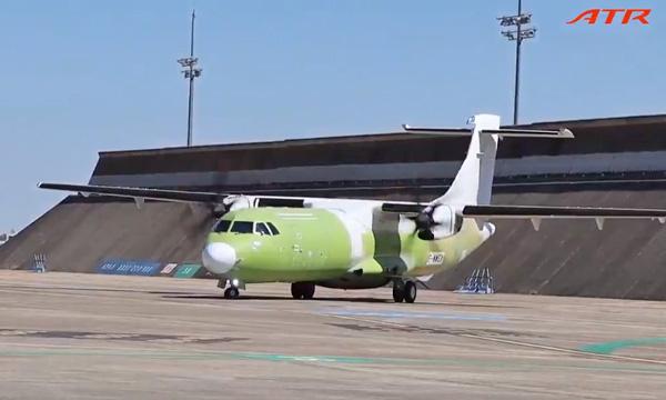 L'ATR 72-600F est bon pour le vol