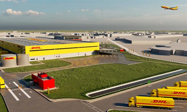 DHL Express présente son nouveau centre de tri à CDG