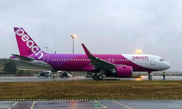 Peach reçoit son 1er Airbus A320neo