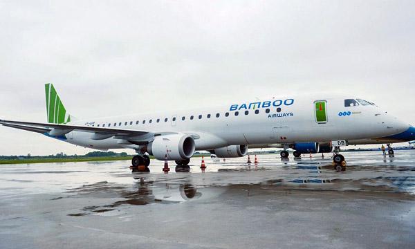 Bamboo Airways introduit des Embraer 195 dans sa flotte