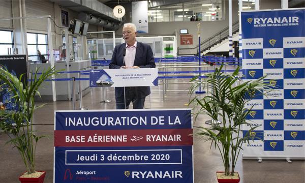 Ryanair inaugure une base à Beauvais