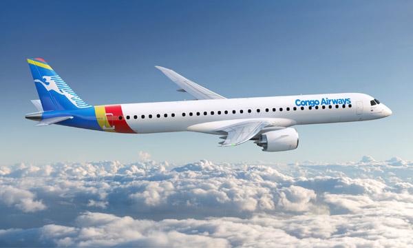 Congo Airways acquiert deux Embraer 195-E2