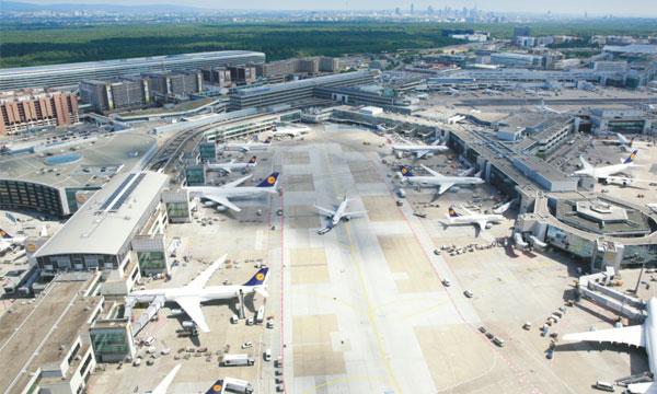 L'aéroport de Francfort Main est revenu au niveau de 1984