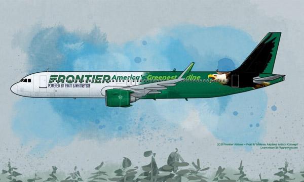 Frontier Airlines confie la motorisation de ses Airbus A320neo à Pratt & Whitney