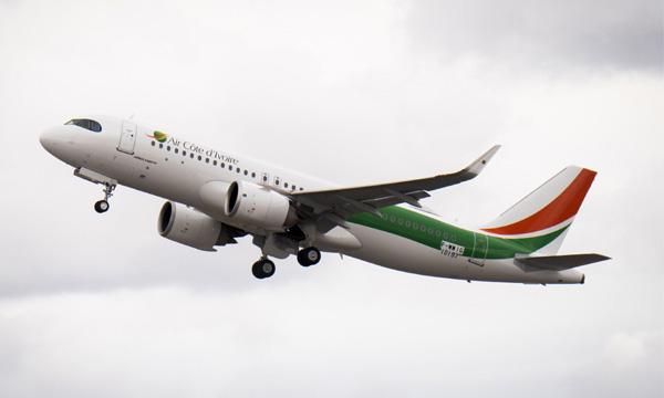 Air Côte d'Ivoire reçoit son 1er Airbus A320neo