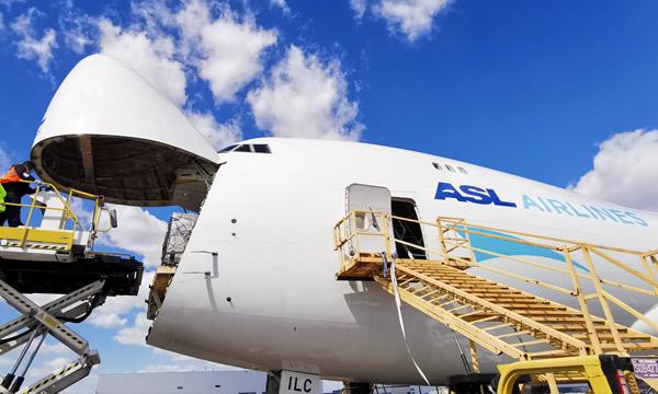 ASL Airlines Belgium confie ses Boeing 747 cargo à AFI KLM E&M