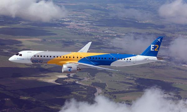 Embraer vend 30 nouveaux E195-E2