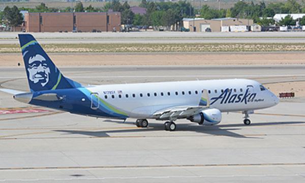 SkyWest Airlines commande 8 nouveaux Embraer E175 pour Alaska Airlines
