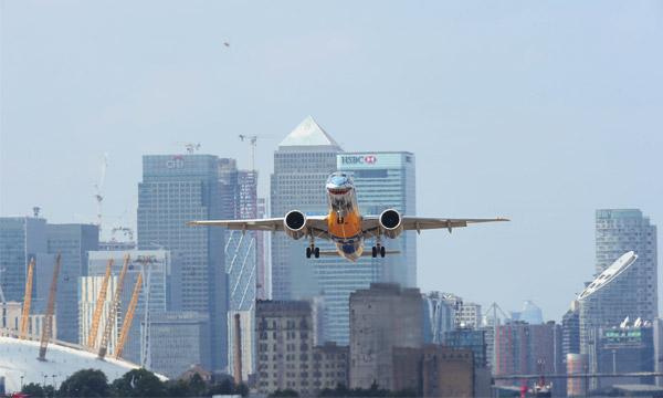 L'Embraer E190-E2 autorisé à atterrir à London City