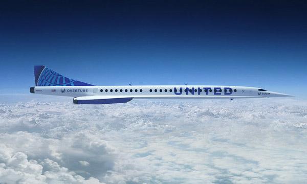 United Airlines signe avec Boom Supersonic