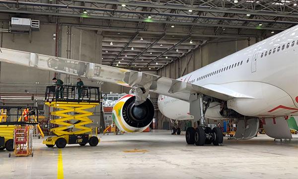 Première C-Check pour un Airbus A330neo en Europe
