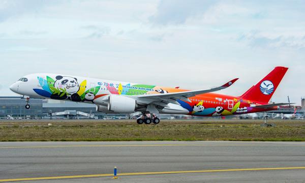Airbus : Sichuan Airlines étend son contrat FHS à l'ensemble de sa flotte d'A350 et monte à bord de la plateforme Skywise