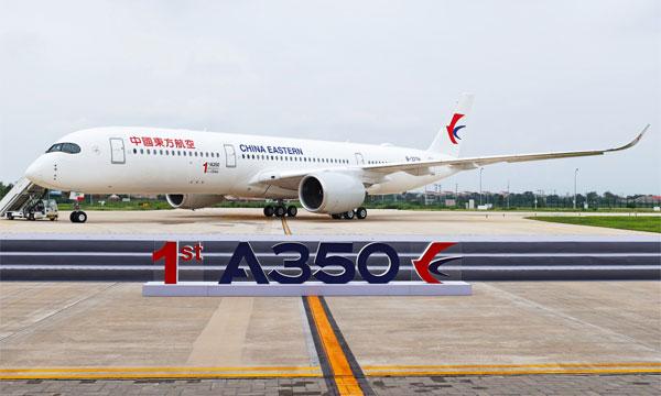 Airbus livre son 1er A350 depuis son centre de finition en Chine