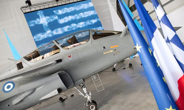 Dassault Aviation : le premier Rafale grec est livré
