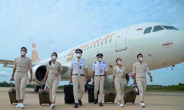 ICBC place un Airbus A320 chez la start-up indonésienne Super Air Jet