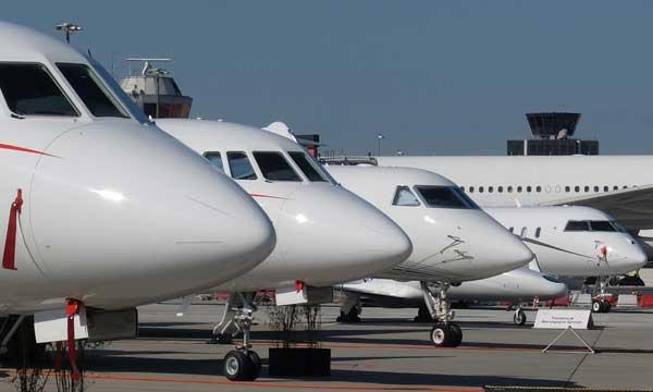 Le nombre de jets d'affaires d'occasion disponibles à un niveau historiquement bas