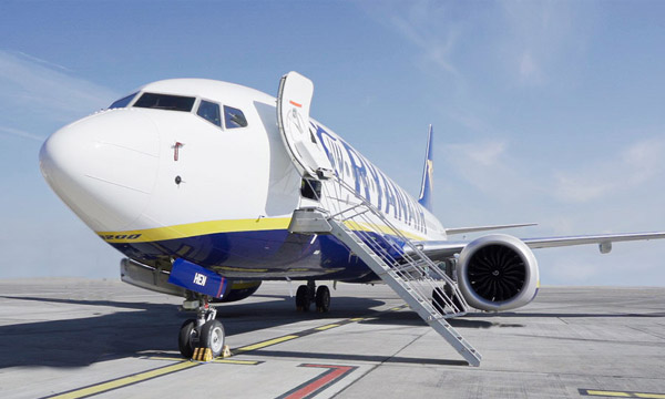 Ryanair perd 273 millions d'euros au premier trimestre