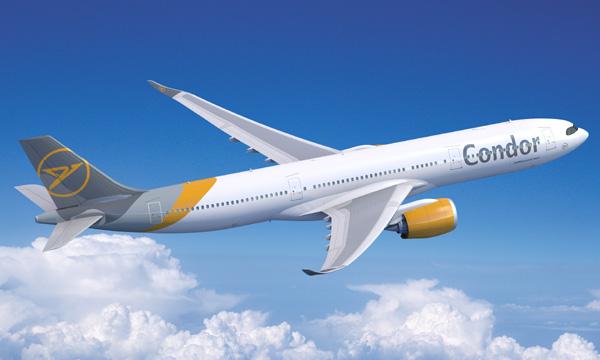 Condor lance l'Airbus A330neo en Allemagne