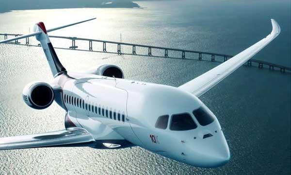 Falcon 10X : Dassault Aviation choisit GE Aviation pour la distribution électrique