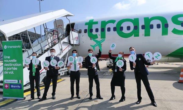 Trafic décuplé pour Transavia au deuxième trimestre
