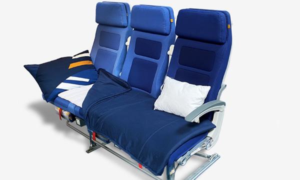 Lufthansa propose un service Sleeper's Row en classe économique