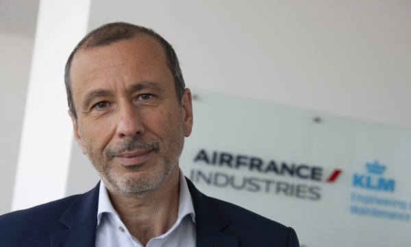 Pierre Teboul takes the lead of the sales of AFI KLM E&M