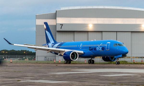 Breeze Airways commande vingt Airbus A220 supplémentaires
