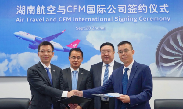 Air Travel and CFM International have signed a RPFH agreement for LEAP-1A engines