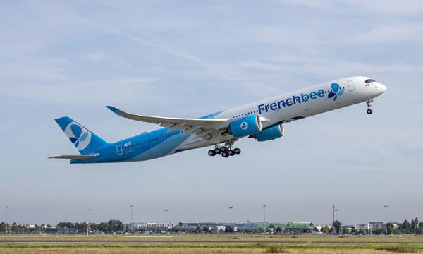 Le 1er Airbus A350-1000 de French bee fait son vol d'essai