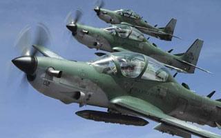 L'USAF rejette l'AT-6 et préfère le Super Tucano