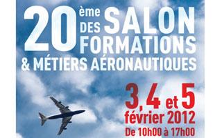 Le Salon des Formations et Métiers Aéronautiques au Bourget en février