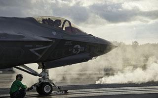Tests de catapultage EMALS réussis pour le F-35C